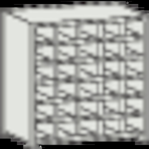 【直送】【代引不可】TRUSCO(トラスコ) 区分棚 コボレ止め付 KB型 889X264X927 5列6段 KB-5063