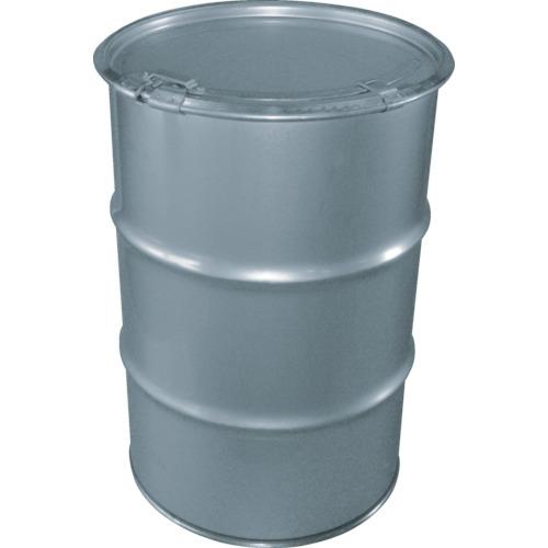 【直送】【代引不可】JFEコンテイナー ステンレスオープンドラム缶 レバーバンド 50L KD-050L