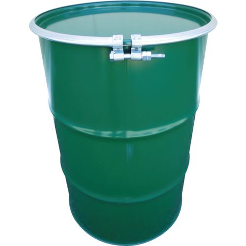 【直送】【代引不可】JFEコンテイナー 鋼製ドラム缶 オープンタイプ ボルトバンド式 100L KD-100BST
