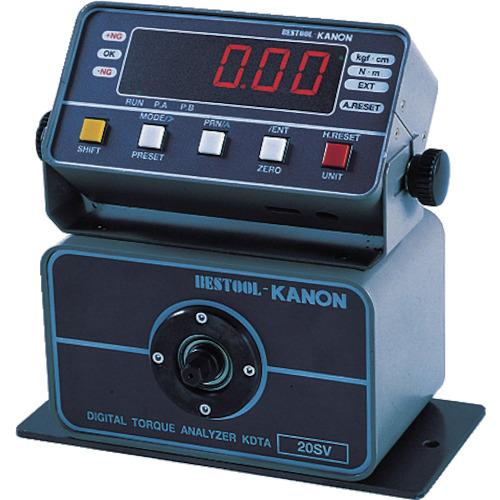 【直送】【代引不可】カノン(中村製作所) セパレート型デジタルトルクアナライザー KDTA-N100SV
