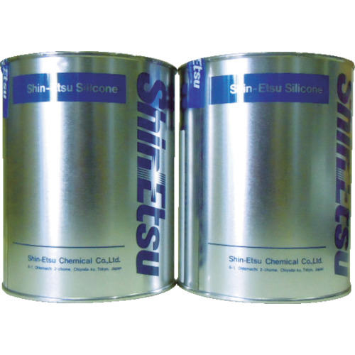 信越化学工業 速硬化RTVパテ 2kg KE1222AB