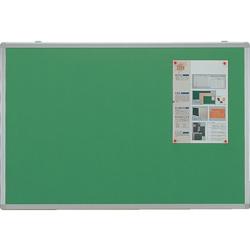 【直送】【代引不可】TRUSCO(トラスコ) 掲示板 ピン専用 900X1200グリーン KE-34SG