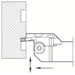 京セラ 溝入れ用ホルダ KGDFL-85-3B-C