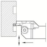 京セラ 溝入れ用ホルダ KGDFR2525X65-3CS