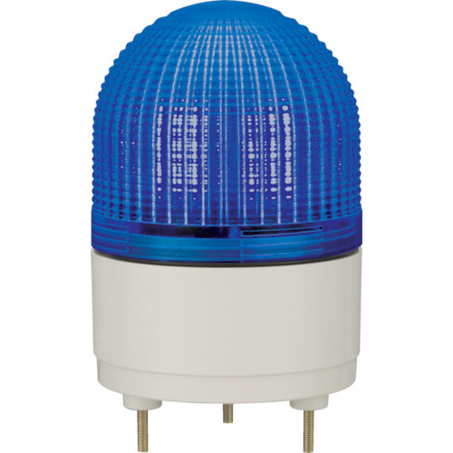 パトライト LED表示灯 φ100 点滅・流動・ストロボ発光 青 KHE-24-B
