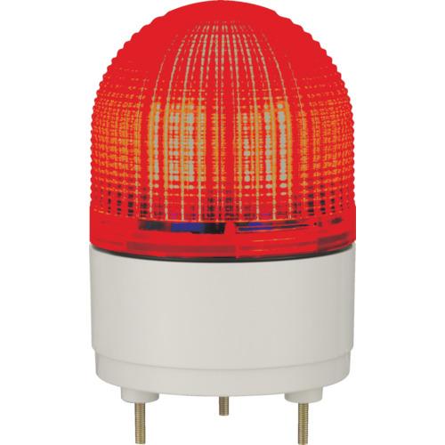 パトライト LED表示灯 φ100 点滅・流動・ストロボ発光 赤 KHE-24-R