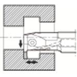 京セラ 溝入れ用ホルダ KIGMR2520B-3V