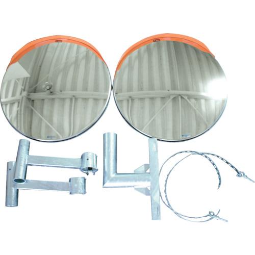 【直送】【代引不可】積水化学工業 ジスミラー 電柱添架型 二面鏡 8アクリル 00φ KM800W-DN