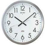 SEIKO(セイコー) 電波掛時計 直径421×48 金属枠 KS266S