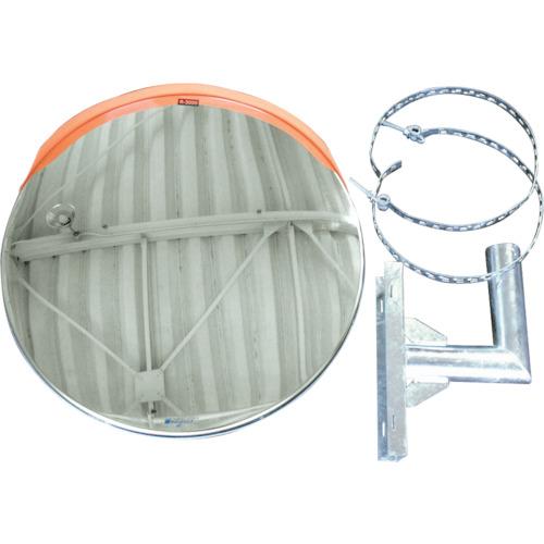 積水化学工業 ジスミラー 電柱添架型 一面鏡 ステンレス 600φ KSUS600S-DN