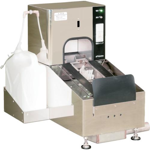 【直送】【代引不可】コトヒラ工業 流水式靴底洗浄装置 洗剤投入タイプ KSW-S02D
