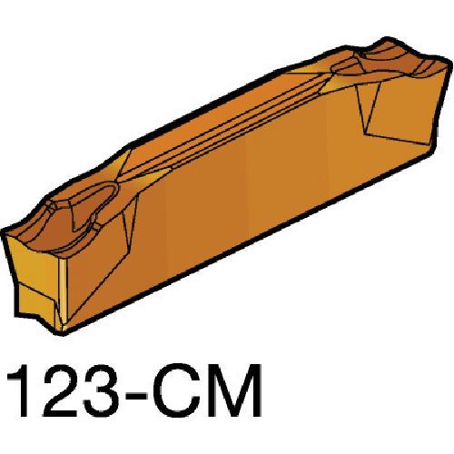 SANDVIK(サンドビック) コロカット2 突切り・溝入れチップ 1125 COAT 10個 L123H2-0400-0502-CM 1125