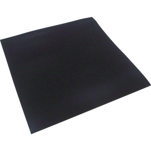 【直送】【代引不可】イノアック ポロンシート 作業台安全マット 黒 3X500mmX24m巻 L24TS-3500-24M