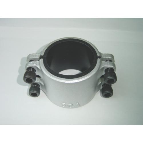 コダマ樹脂 圧着ソケット鋼管直管専用型ハーフサイズ80A 1/2 L80AX0.5