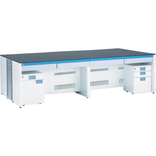 【直送】【代引不可】ヤマト科学 ラボキューブ中央実験台 2400X1500X850 LCA-245T