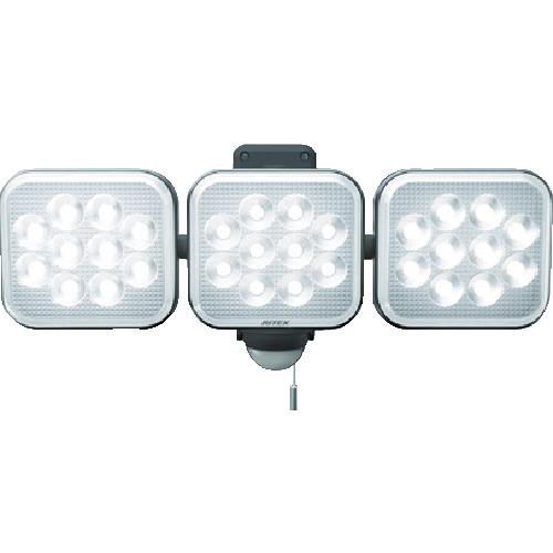 ムサシ 12WX3灯 フリーアーム式LEDセンサーライト LED-AC3036