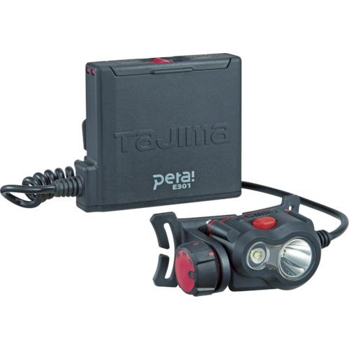 TJM(タジマ) ペタLEDヘッドライト E301 ブラック LE-E301-BK