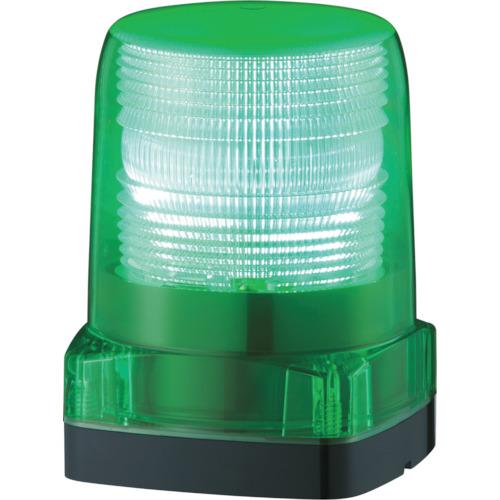 パトライト LEDフラッシュ表示灯 緑 LFH12G