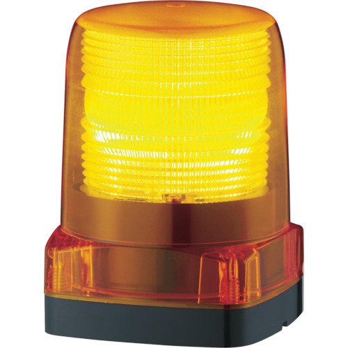 パトライト LEDフラッシュ表示灯 黄 LFHM2Y