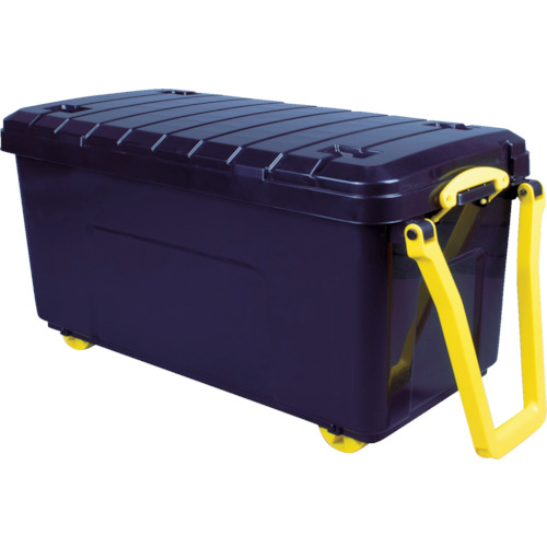 RUP コンテナ Really Useful Wheeled Trunk ブラック LG-WHTR