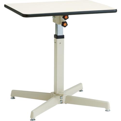 【直送】【代引不可】ユニオンスチール ローハイシステムテーブル フリーロック式 450X450 LH-F451M