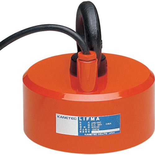 【直送】【代引不可】カネテック 小形電磁リフマ 鋼板専用 鋼板2500kg LMU-30D