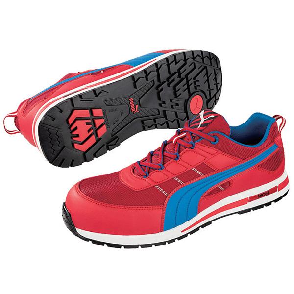 プーマセフティ(PUMA) 安全作業靴 キックフリップ レッド・ロー 28.0cm 64.320.0-28.0