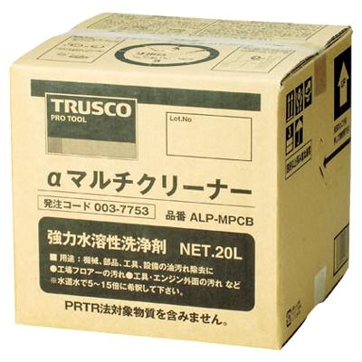 TRUSCO(トラスコ) マルチクリーナー 20L ALP-MPCB