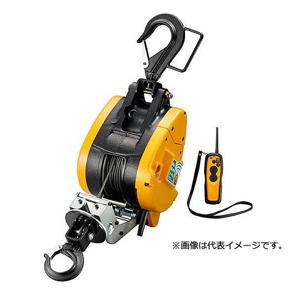 【直送】【代引不可】リョービ(RYOBI) リモコンウインチ ワイヤー30m付 WI-196RC 685810A