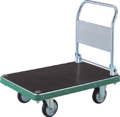 人気TOP NDハンドトラック ND-906-2GMK:工具屋のプロ 折りたたみハンドル式(ゴム板付) 920X620 【直送】【】TRUSCO(トラスコ) 店-DIY・工具
