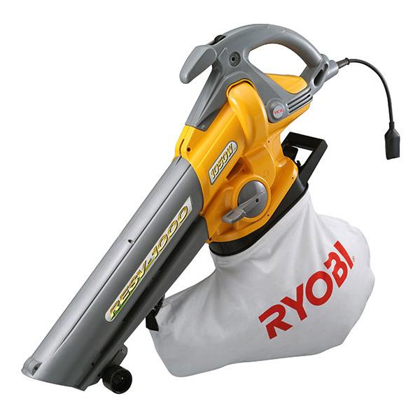 リョービ(RYOBI) ブロワバキューム+替え用ダストバッグ25Lセット RESV-1000+6077177-set