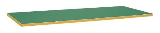 【直送】【代引不可】サカエ(SAKAE) 中量用天板 1800X750 サカエリューム天板 グリーン KV-1875FTC