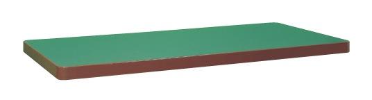 【直送】【代引不可】サカエ(SAKAE) 重量用天板 1800X900 サカエリューム天板 グリーン W-1890FTC
