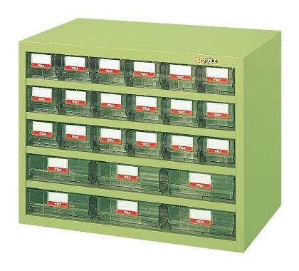 【直送】【代引不可】サカエ(SAKAE) ハニーケース 樹脂ボックス 小18・大6 690X450X540 グリーン HFS-186TL