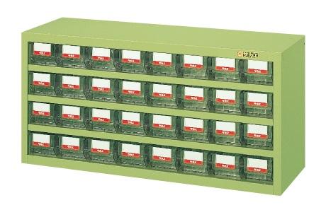 【直送】【代引不可】サカエ(SAKAE) ハニーケース 樹脂ボックス 小32 900X450X440 グリーン HFW-32TL