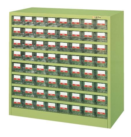 【直送】【代引不可】サカエ(SAKAE) ハニーケース 樹脂ボックス 小64 900X450X880 アイボリー HFW-64TLI