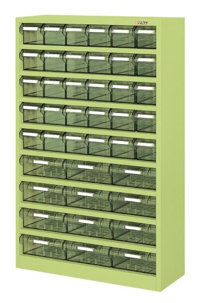 【直送】【代引不可】サカエ(SAKAE) ハニーケースII 樹脂ボックス 小30・大12 842X300X1320 グリーン HK-42