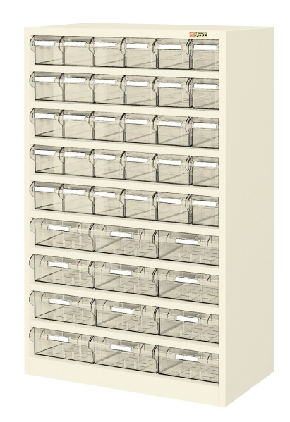 【直送】【代引不可】サカエ(SAKAE) ハニーケースII 樹脂ボックス 小30・大12 842X450X1320 アイボリー HK-42LI