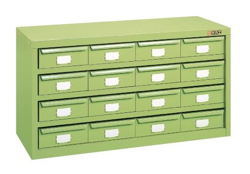 【直送】【代引不可】サカエ(SAKAE) ハニーケース 900X305X440 グリーン HM-16