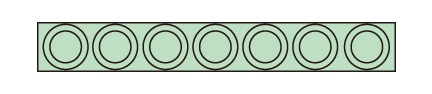 サカエ(SAKAE) ツーリングホルダーフレーム 収納数(HSK-100)7個 W1030用 HSK-1007