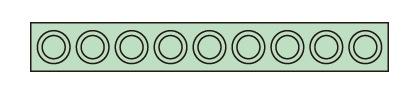 サカエ(SAKAE) ツーリングホルダーフレーム 収納数(HSK-63)9個 W1030用 HSK-639