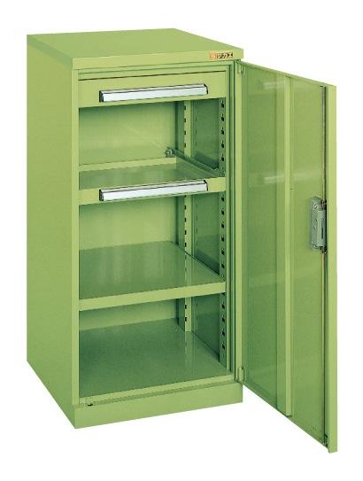 【直送】【代引不可】サカエ(SAKAE) ミニ工具室 502X516X1000 グリーン K-80N