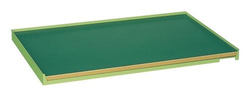 【直送】【代引不可】サカエ(SAKAE) ミニ工具室横ケント式用オプション コボレ止め天板 1027X627 K-K100T