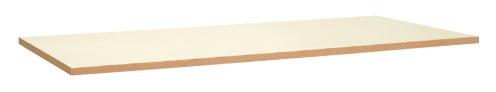 【直送】【代引不可】サカエ(SAKAE) 中量用天板 1800X900 メラミン天板 アイボリー KV-1890MTCI