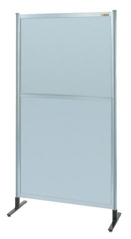 【直送】【代引不可】サカエ(SAKAE) パーティション オールアルミタイプ(移動式) 930X1800 NAA-36NC