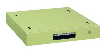 サカエ(SAKAE) 作業台用オプションキャビネット 500X500X83 グリーン NKL-10C
