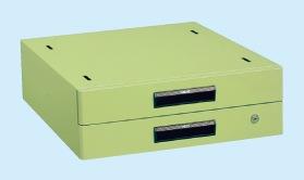 【直送】【代引不可】サカエ(SAKAE) 作業台用オプションキャビネット 500X500X164 グリーン NKL-20C