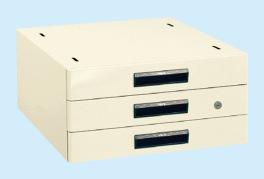 【直送】【代引不可】サカエ(SAKAE) 作業台用オプションキャビネット 500X500X246 アイボリー NKL-30IA