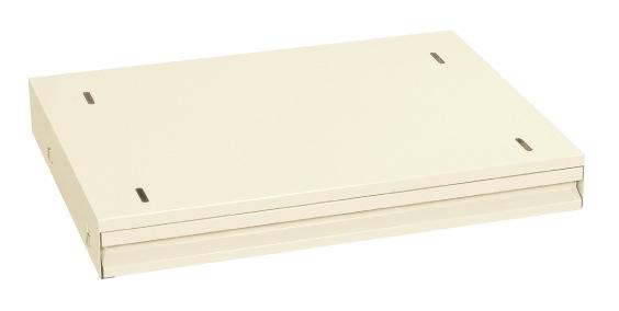 サカエ(SAKAE) 作業台用オプションキャビネット 628X500X83 アイボリー NKL-95IC