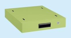 サカエ(SAKAE) 大型作業台用オプションキャビネット 400X500X83 グリーン NKL-S10F